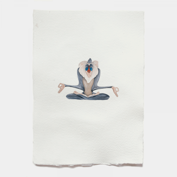 Astronut — Designatelier für Design & Illustration | Andreas Stoessel – Yoga Monkey