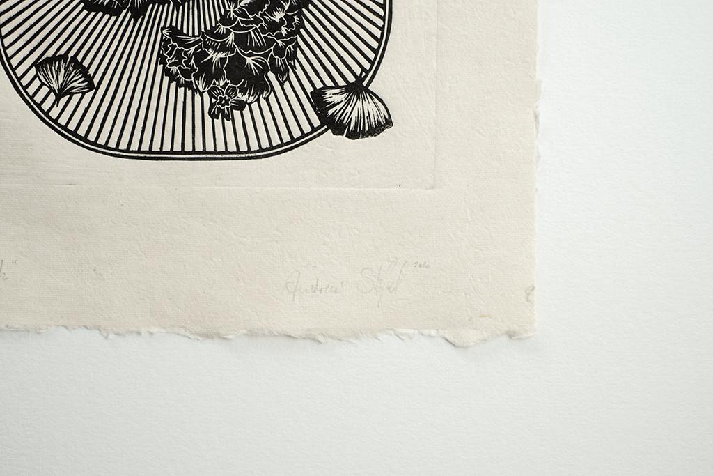Astronut — Designatelier für Design & Illustration   Andreas Stoessel – Lino Print – Growth Detail