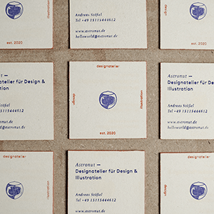 Astronut — Designatelier für Design & Illustration | Andreas Stoessel – Corporate Identity Astronut